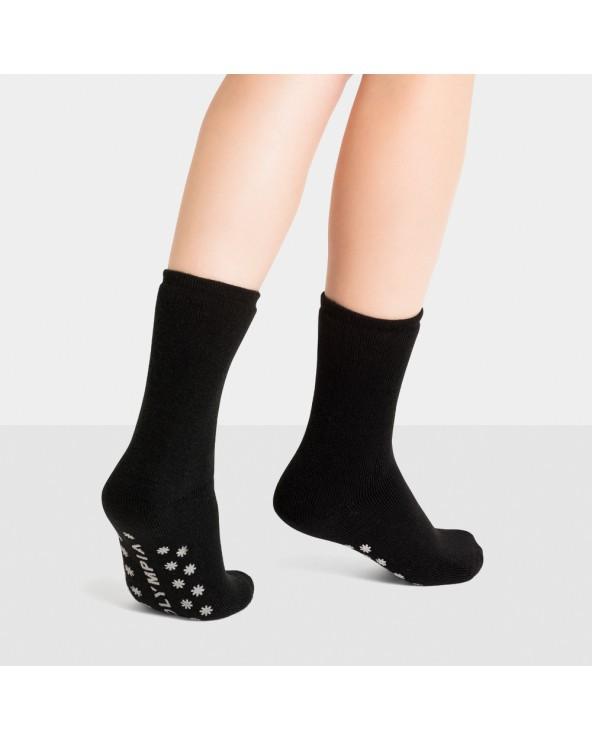Chaussettes courtes ultra épaisses antidérapantes