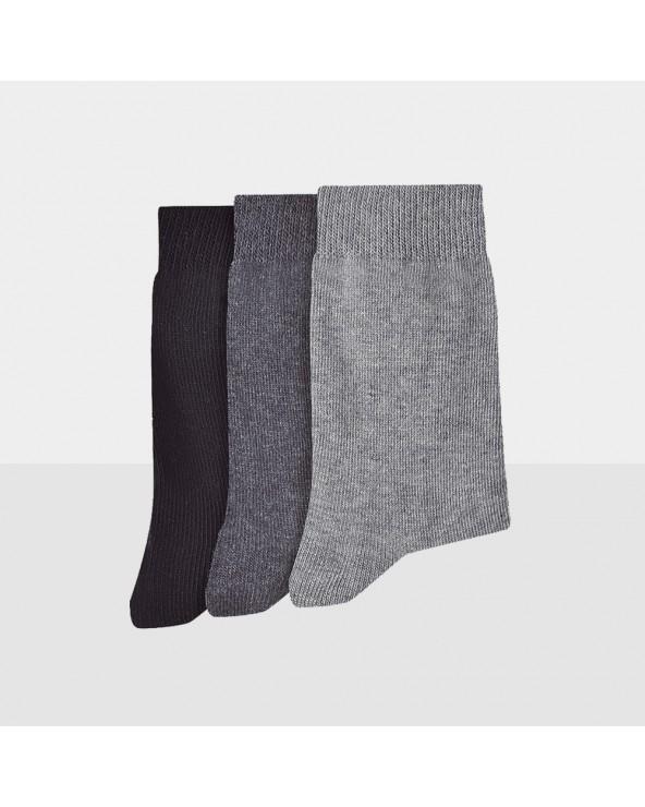 Chaussettes unies entretien facile