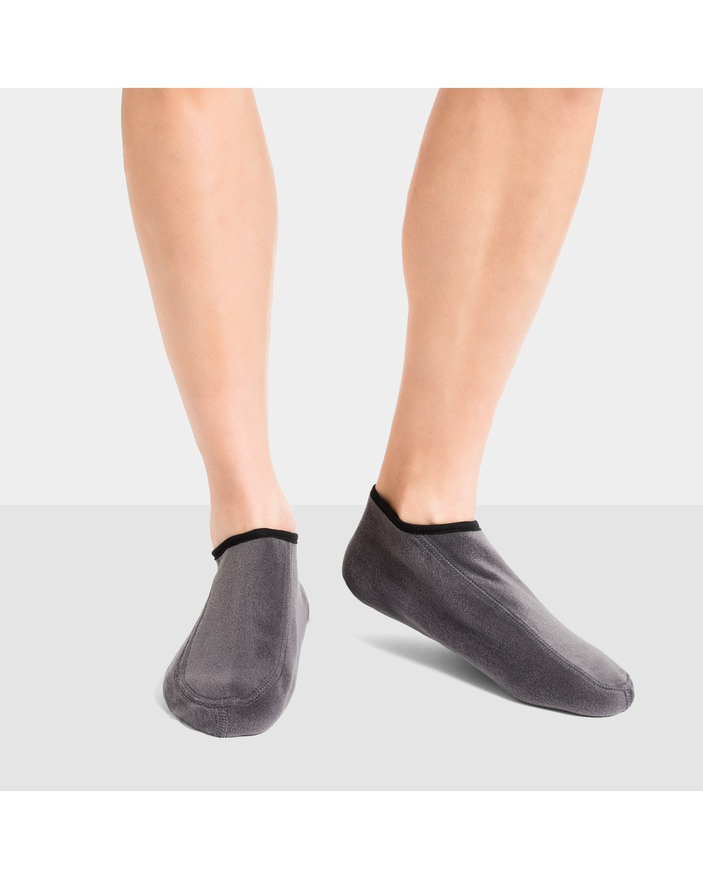 Chaussons polaires unies