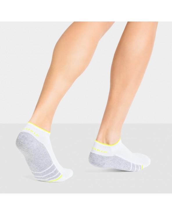 Socquettes coton semelle sport confort
