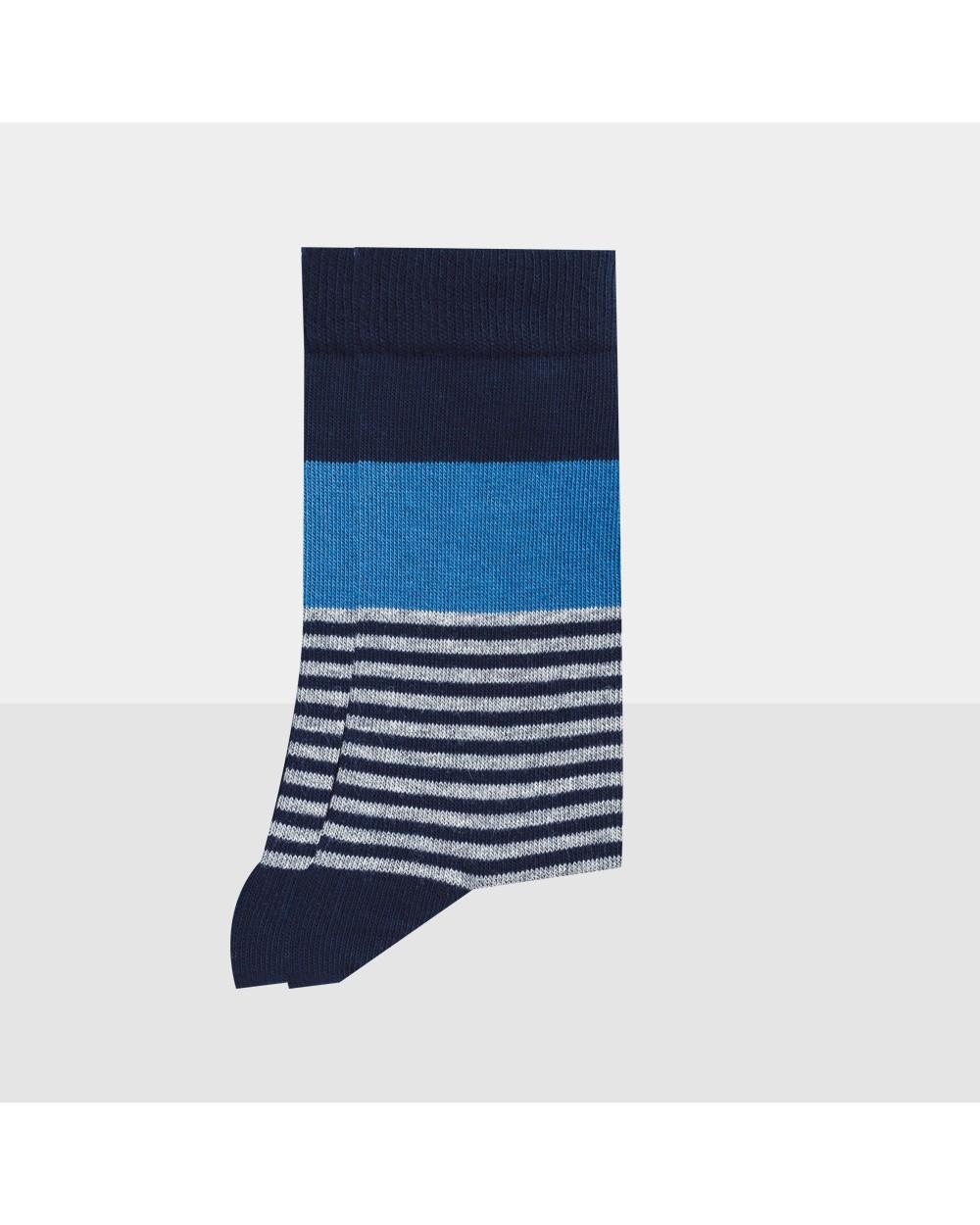 Chaussettes rayées entretien facile