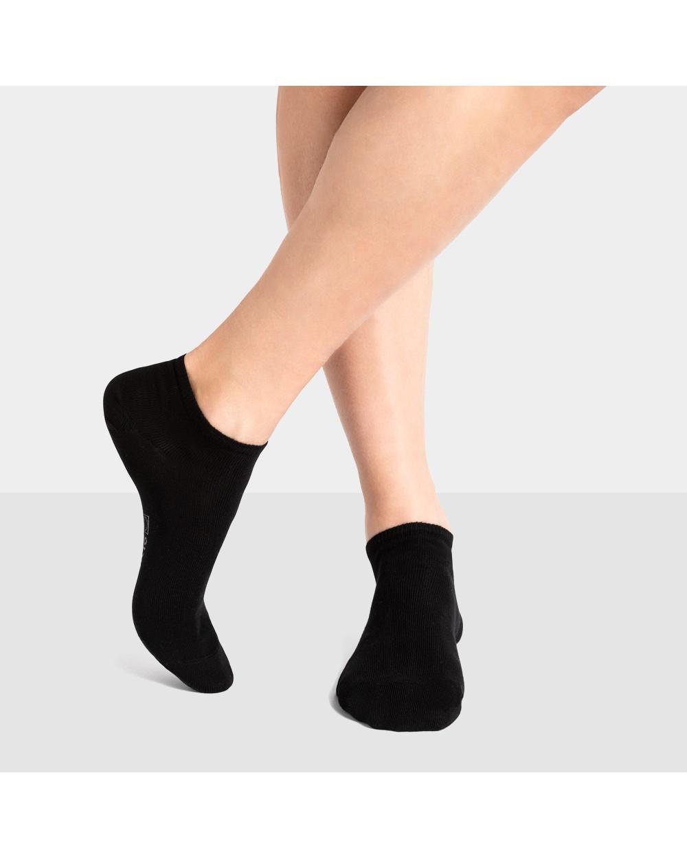Chaussettes invisibles coton unies