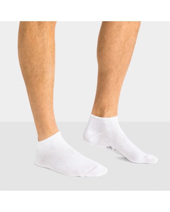 Socquettes coton bio unies