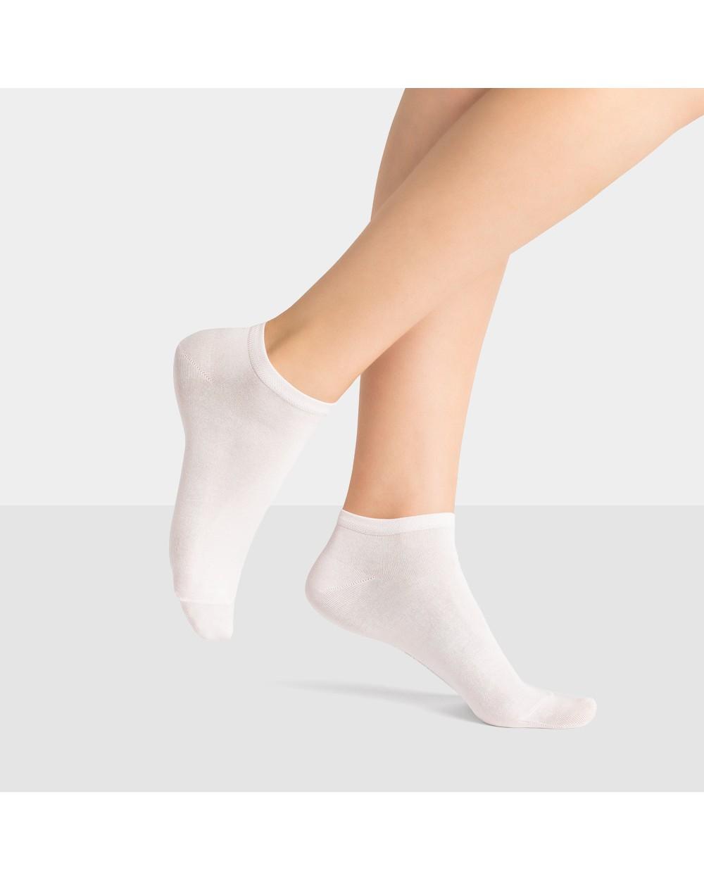 Chaussettes Invisibles Fil d'écosse vitaminées