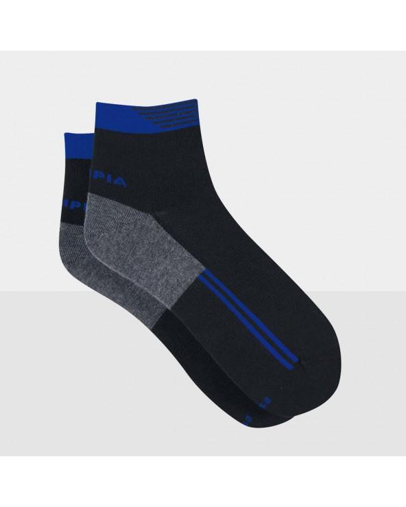 Chaussettes courtes coton sport design