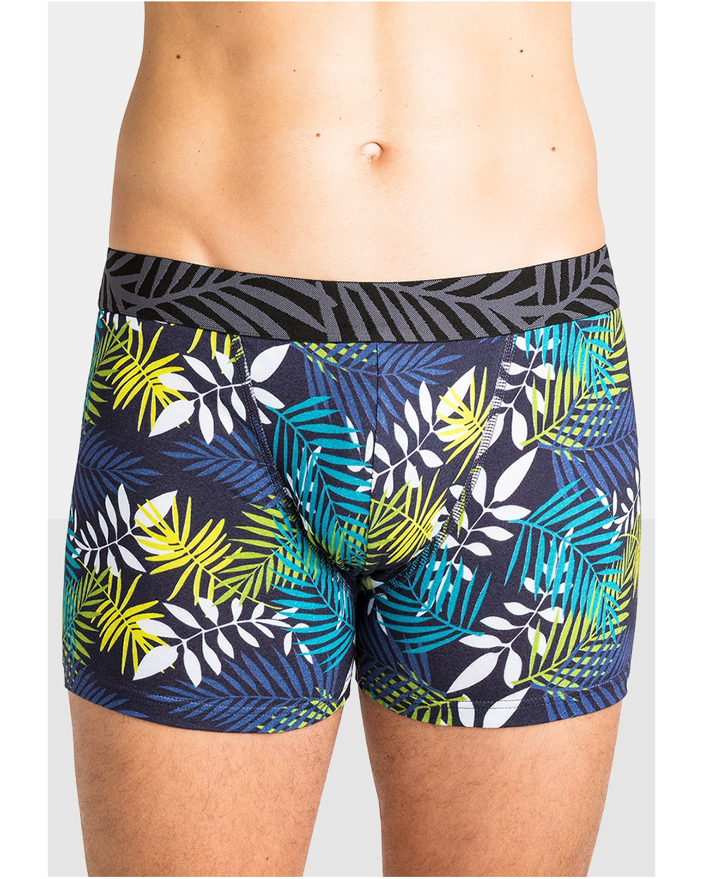 Boxer Coton Fantaisie Tropical