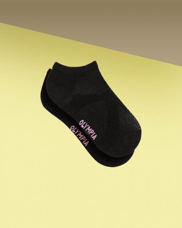 Socquettes sport unies