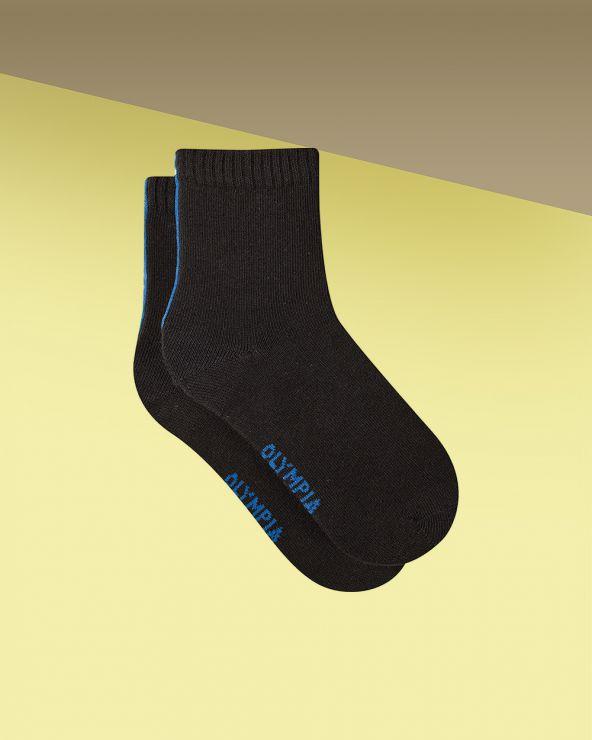 Chaussettes courtes coton sport unies