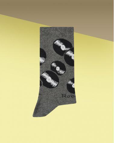 Chaussettes Coton Motif Vinyles