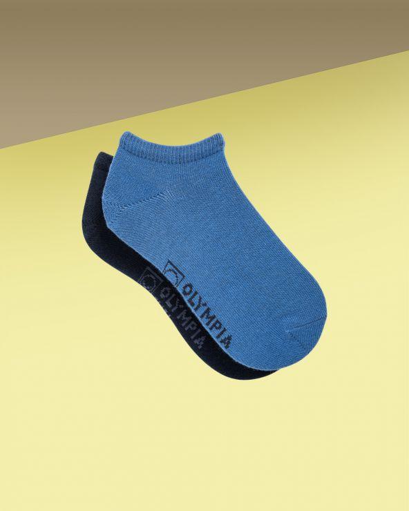 Socquettes garçon coton unies entretien facile