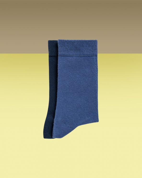 Chaussettes garçon coton unies entretien facile
