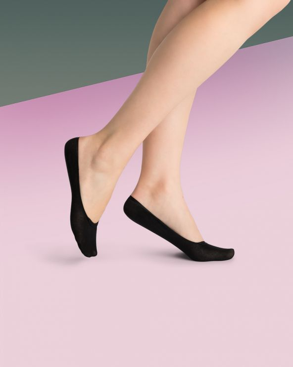 Chaussettes invisibles protège-pieds
