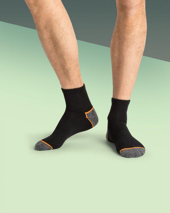 Chaussettes courtes de travail coton