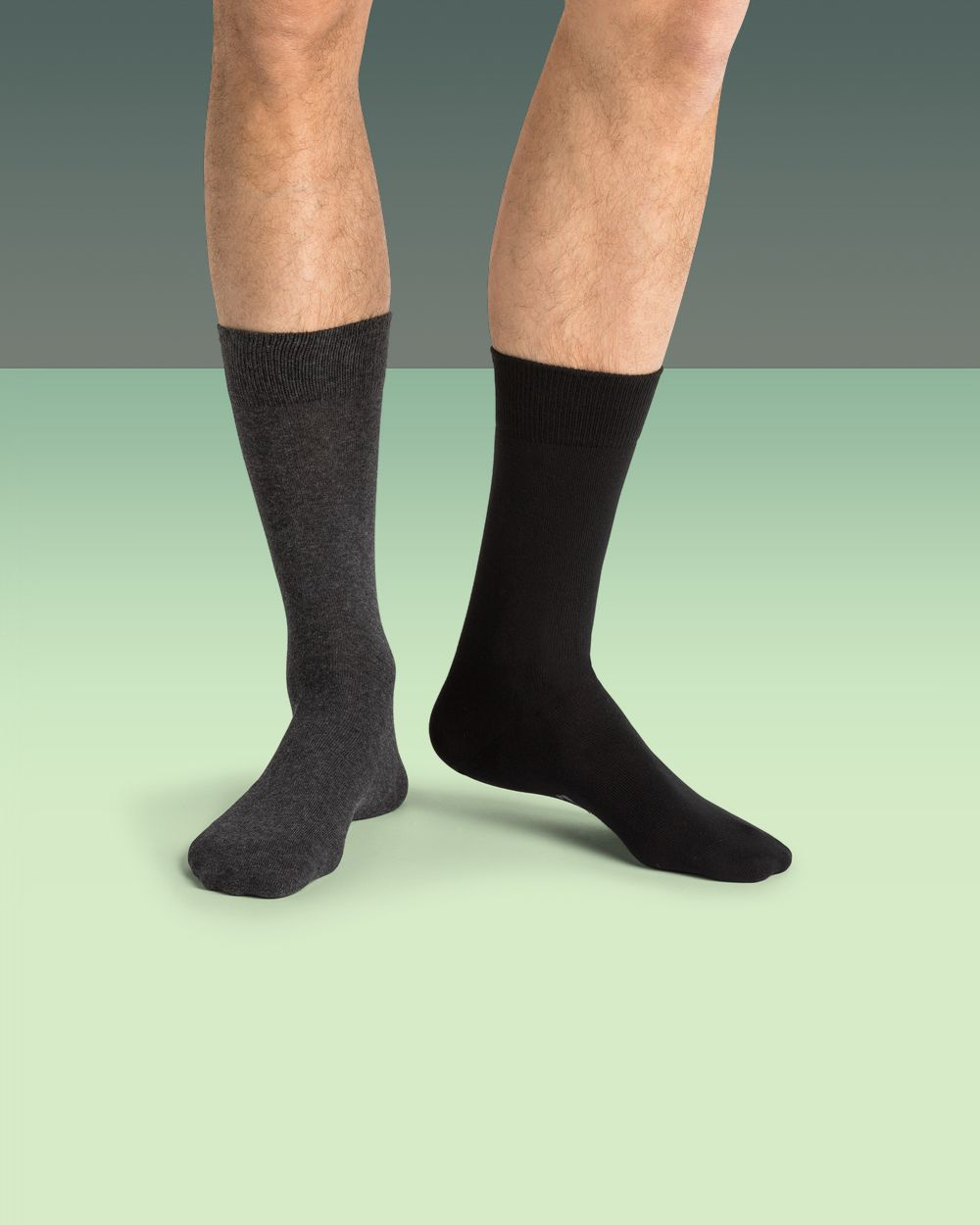 Chaussettes coton bio unies - Entretien facile