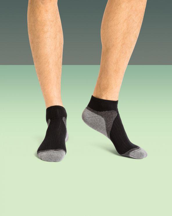 Chaussettes courtes coton coton multi sport