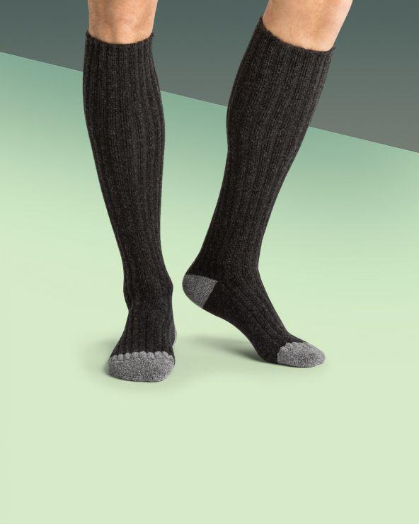 Chaussettes hautes Laine renforcées