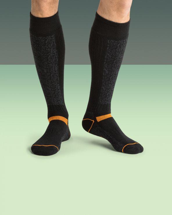 Chaussettes hautes travail chaudes