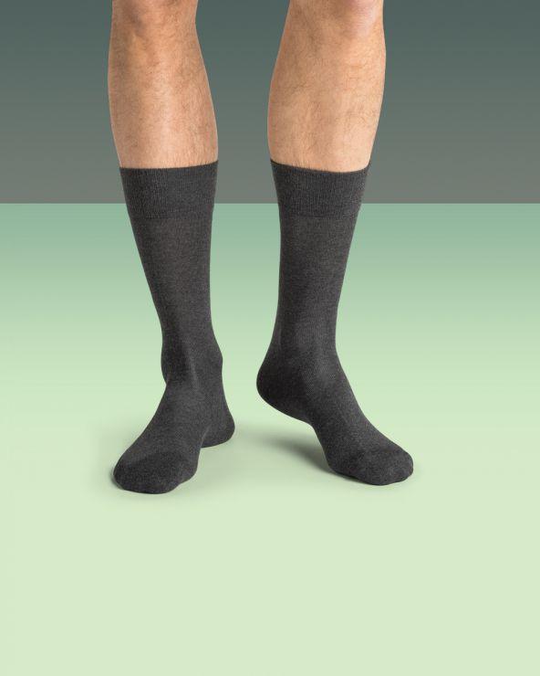 Chaussettes chaudes et fines unies