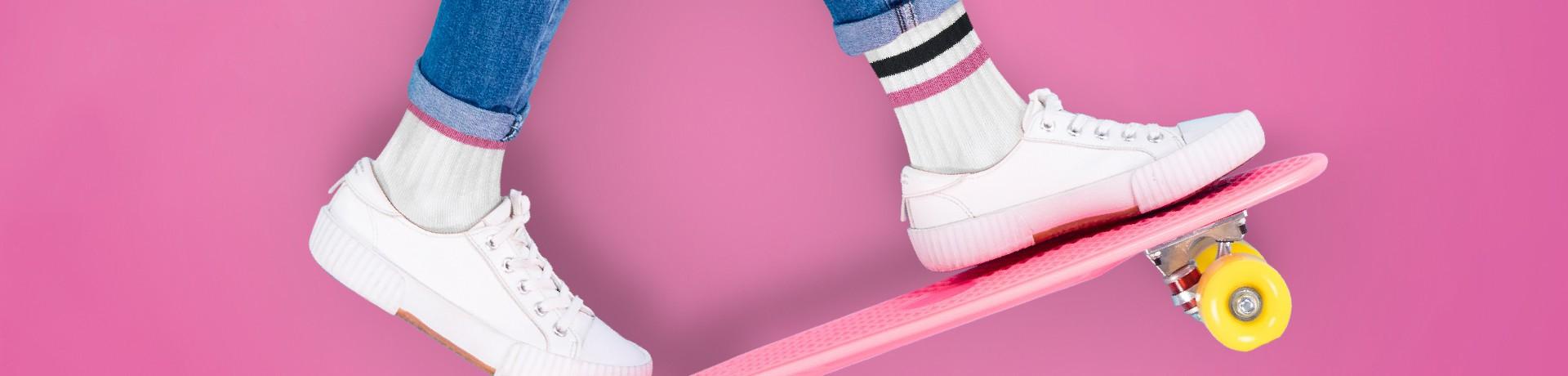 Chaussettes fille de sport
